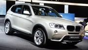 Reportage vidéo BMW X3 : Salon