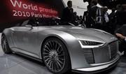 Audi e-tron Spyder: l'hybride sportive