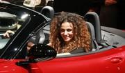 Les hôtesses du Mondial de Paris par Le Quotidien Auto