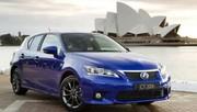 """Lexus CT 200h F une version """"sport"""" et des émissions de 87g de CO2"""