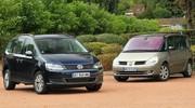 Essai du nouveau Volkswagen Sharan face au leader du marché, le Renault Espace