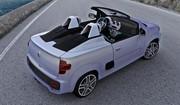 Fiat Uno Concept Cabrio : Prototype