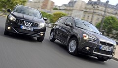 Nissan Qashqai 2.0 dCi 150 vs Mitsubishi ASX 1.8 Di-D 2WD : Leçons de maintien