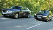 Essai Saab 9-5 vs Volvo S80 : le match