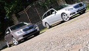 Essai Mercedes Classe E Break 200 CDI 136 ch vs Skoda Superb Combi 2.0 TDI 140 ch : Grosses caisses