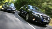 Essai Mercedes E 220 CDI vs Saab 9-5 2.0 TiD 160 : Renaissance suédoise