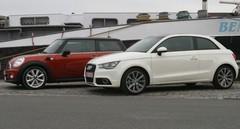Essai Audi A1 vs Mini Cooper D : Concurrentes, vraiment??