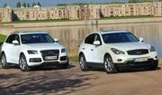 Essai Infiniti EX vs Audi Q5 : deux SUV chauffés à blanc
