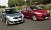 La Suzuki Swift affronte la Peugeot 207