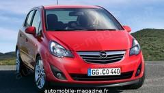 Opel Corsa restylée : Changement enfin visible