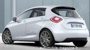 Renault Zoé : En tenue de série