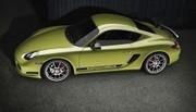 Porsche Cayman R dévoilé !