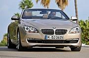 Superbe et efficiente, la BMW série 6 cabriolet