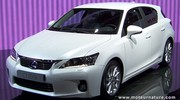 Lexus CT200h: les tarifs