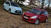 Essai Suzuki Swift 1.2 VVT 92 ch vs Citroën C3 1.4 VTi 95 ch : Opération Séduction