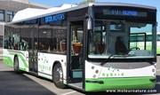 Des autobus hybrides au gaz à Madrid