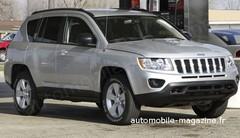 Jeep Compass restylée : Adieu aux rondeurs