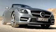 La nouvelle Mercedes SLK dévoilée avant l'heure