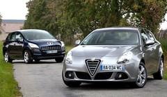 Essai Alfa Romeo Giulietta 1.6 JTDM vs Peugeot 3008 1.6 HDI : Les allogènes
