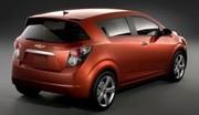 Chevrolet Sonic : l'Aveo change de nom sur le marché américain