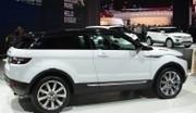 Pas d'hybridation pour le Range Rover Evoque