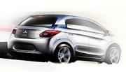 Future Mitsubishi Colt : Courbe ascendante