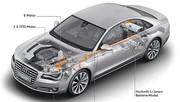 A6, A8 et Q5, les 3 modèles hybrides d'Audi avec le moteur essence TFSI