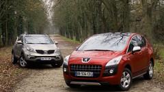 Essai Peugeot 3008 vs Kia Sportage : chaussure à son pied