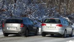 Essai Renault Laguna vs VW Passat : les breaks s'affrontent