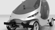 Exid Micron : quadricycle citadin électrique et biplace