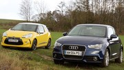 Essai Citroën DS3 vs Audi A1 : la lutte des classes