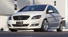 Mercedes B 55 : travaux pratiques