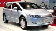 Des véhicules électriques et hybrides chez BYD