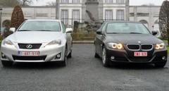Essai BMW 320d EfficientDynamics vs Lexus IS 2 : Confrontation directe!