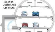 L'autoroute A86 voit le bout du tunnel
