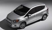 Ford : 2 C-Max hybrides à Detroit