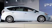 Deux nouvelles Prius au salon de Detroit