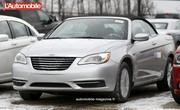 Chrysler 200 Convertible : Bientôt chez Lancia?