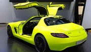 Mercedes SLS AMG E-Cell : Ecologique mais pas seulement