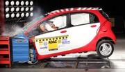 Crash-test Mitsubishi i-Miev : La tension retombe