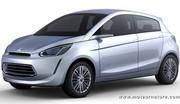 La nouvelle petite voiture Mitsubishi