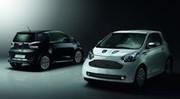 Aston Martin Cygnet Launch Edition : une noire et une blanche