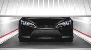 La mutation du concept Toyota FT-86