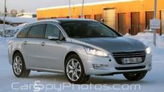 Scoop : Peugeot 508 SW Outdoor : premières photos