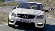 Mercedes C63 AMG : copie revue