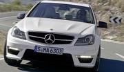 Mercedes-Benz C63 AMG restylée : Sursis pour un V8