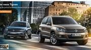 Volkswagen Tiguan restylé : première photo