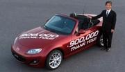 Le Mazda MX-5 établit un nouveau record du monde