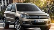 Le nouveau Volkswagen Tiguan change de tête avant le salon de Genève !