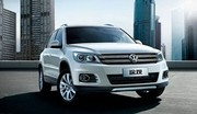 Volkswagen Tiguan restylé : Nouvel an chinois